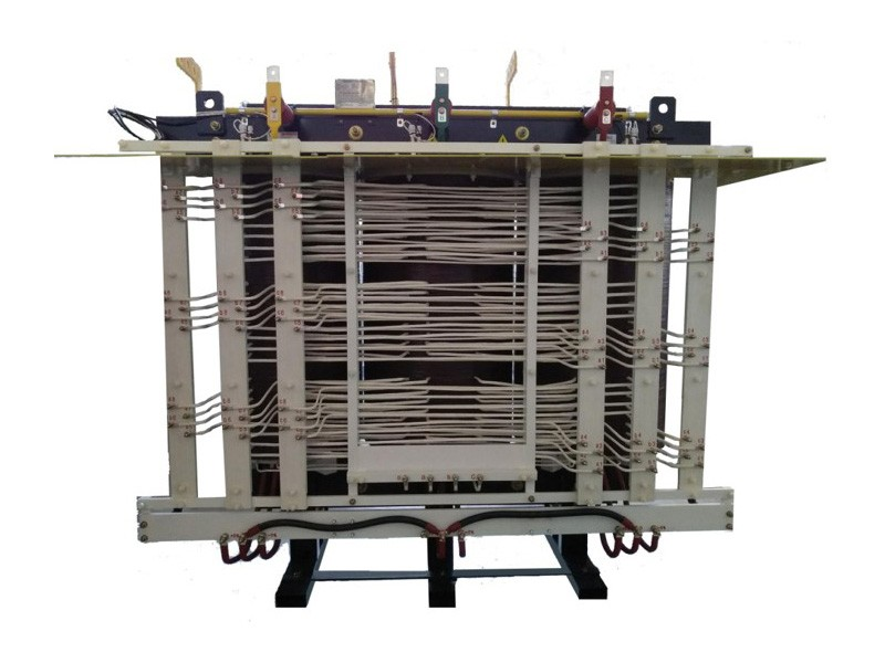 Fan cooling structure transformer
