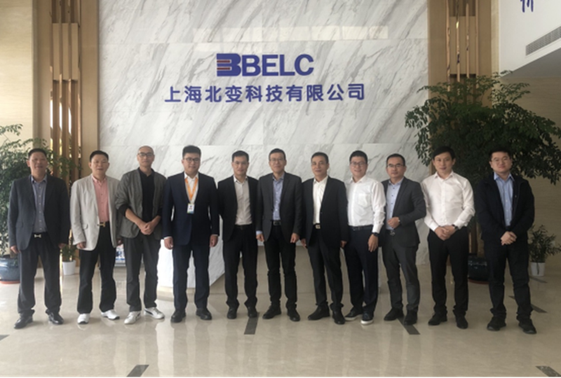Vice Mayor Xu Haiyan of Yueqing Municipal People's government and his party from Yangtze River Delta Investment Promotion Service Center visited Shanghai beibian Technology Co., Ltd